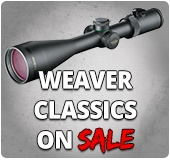 Weaver Riflescopes on Sale for Less