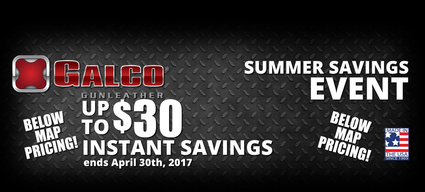 Instant Savings on Galco