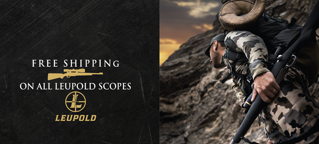Leupold Riflescopes have Free Shipping